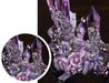 Purple Crystal Queen Party & Wedding Crown for Women - InnovatoDesign