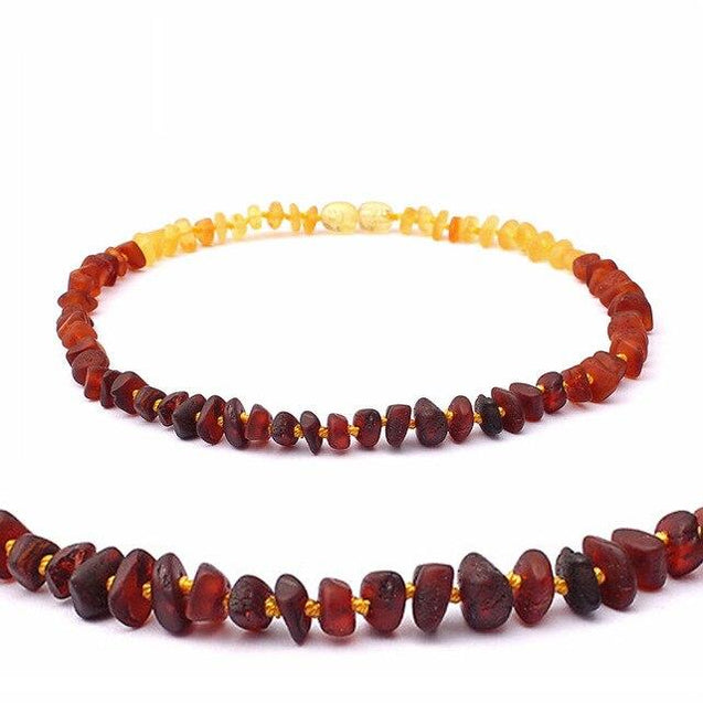 Natural Baltic Amber Stone Beaded Necklace Accessory - InnovatoDesign