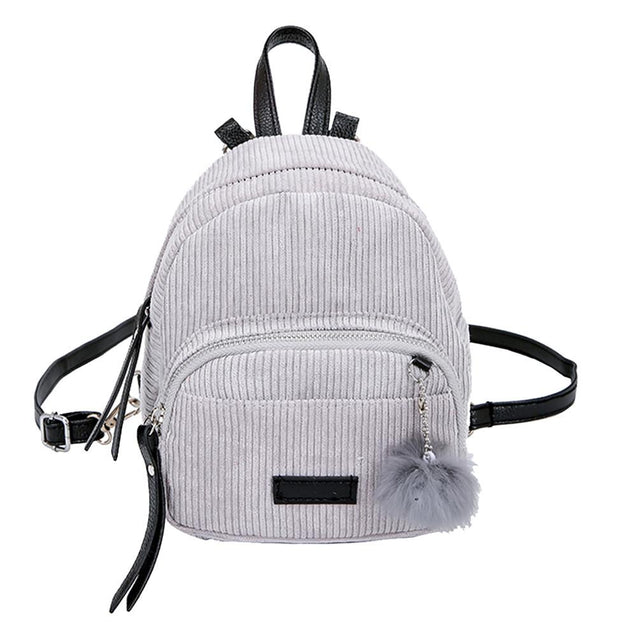 Corduroy School 20 Litre Backpack in 5 Colors - InnovatoDesign