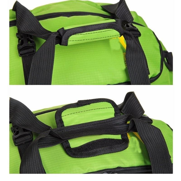 Three-Way Gym/Running 20 to 35 Litre Backpack with Shoe Compartment - InnovatoDesign