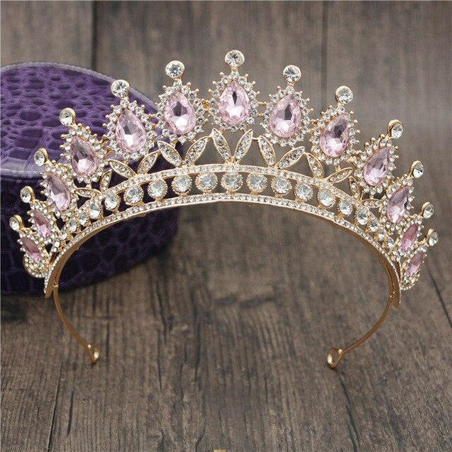 Queen Bridal Tiaras and Crowns in 15 Different Styles for Wedding or Prom - InnovatoDesign