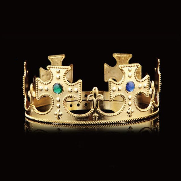 King & Queen Crowns for Prom or Wedding in Gold and Silver - InnovatoDesign