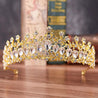 Crystal Baroque Luxury Wedding & Prom Queen Crown - InnovatoDesign