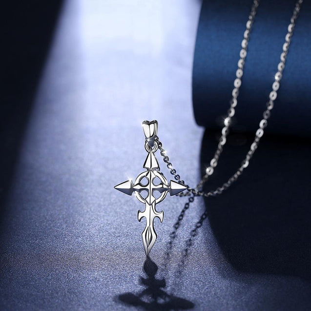 925 Sterling Silver Ortodox Celtic Cross Necklace - InnovatoDesign