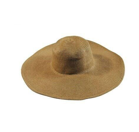 Foldable Large Straw Sun Floppy Beach Hat
