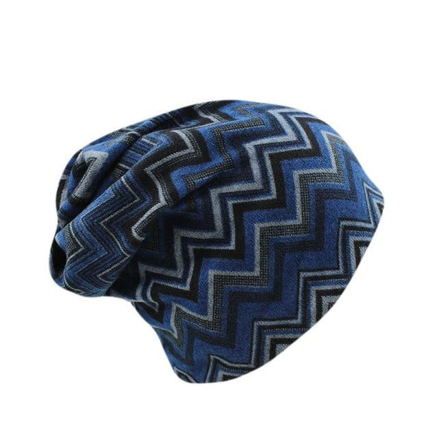 Hip-hop Vintage Striped Beanie or Scarf