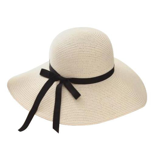 Foldable Floppy Wide Brim Straw Summer Hat