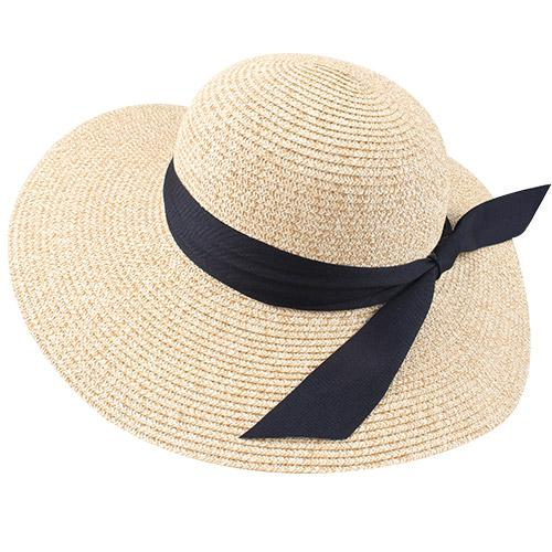 INNOVATO Women's Foldable Floppy Large Brim Straw Sun Hat