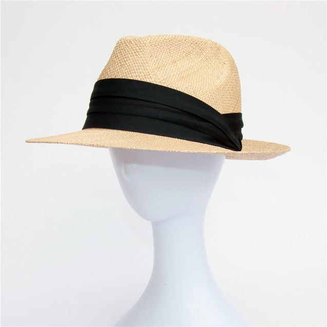 Treasure Grass Khaki Straw Panama Hat