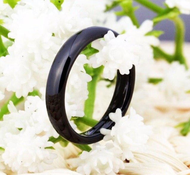 4mm Domed Tungsten Carbide Wedding Band