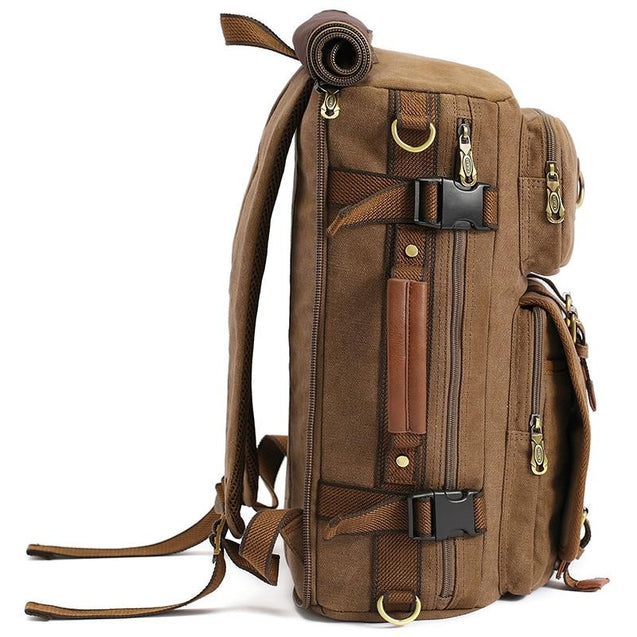 Canvas Backpack Leisure Travel 20 to 35 Litre Backpack - InnovatoDesign