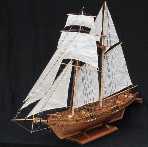 Wooden Ship Model Kit with Classics Antique Design DIY - InnovatoDesign