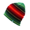 Multicolored Striped Knit Hat, Skull Cap or Beanie