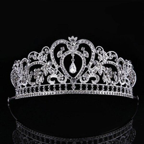 European Silver Crystal Tiaras and Crowns for Wedding or Prom - InnovatoDesign