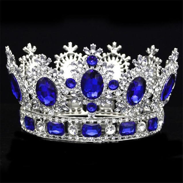 Luxury Royal Queen Crown for Prom or Wedding - InnovatoDesign