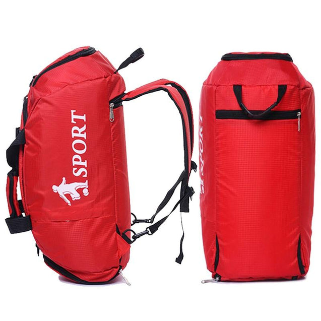 Two Way Multifunctional 36 to 55 Litre Sports Backpack with Shoe Compartment - InnovatoDesign