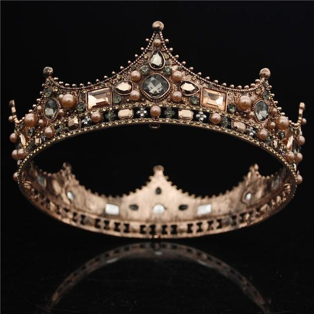 Queen & King Tiara Crown for Prom or Wedding - InnovatoDesign