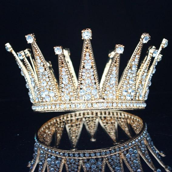 Vintage King's Tiara Crown for Men - InnovatoDesign