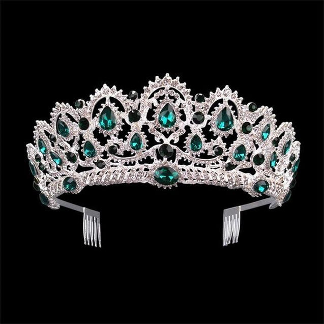 Luxury Vintage Queen & King Crown Hair Jewelry - InnovatoDesign