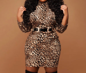 Leopard Vibes Dress