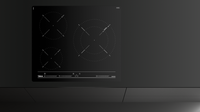 Induction hob with 3 zones and MultiSlider Touch Control in 60 cm