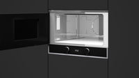 Built-in Microwave with ceramic base + Grill