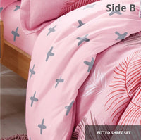 Relax Pampelune Fitted Sheet Set / Quilt Cover Set