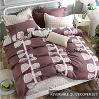 Relax Ellipse Fitted Sheet Set / Quilt Cover Set