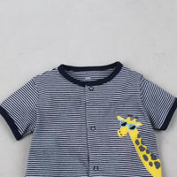 Summer baby boys rompers kids Short sleeve clothing Baby girls cotton Jumpsuit Newborn rompers 0-24M baby clothes