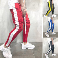 Fashion New Streetwear Sweatpants For Men Causal Sportswear Pants Black White Trendy Men's Hip Hop Sweatpants Trousers