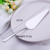 Stainless Steel Cake Pizza Shovel Knife Butter Knife Cheese Dessert Cutlery Bakeware Cake Spatula Tool baking & pastry spatulas