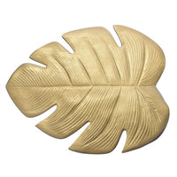 Placemat for dining table Coasters Lotus Leaf Palm Leaf Simulation Plant PVC Cup Coffee Table Mats Kitchen Christmas Home Decor
