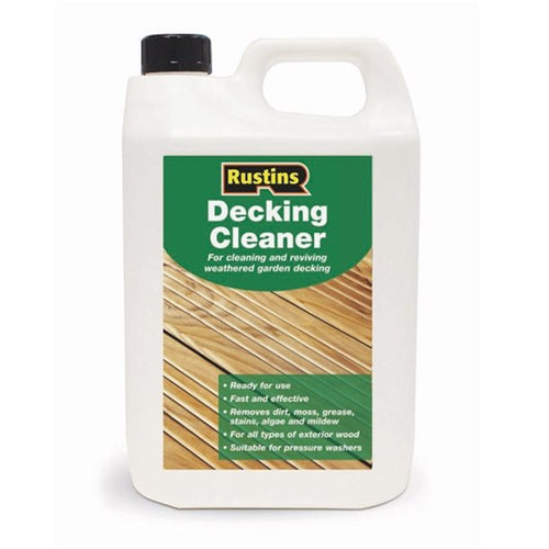 Rustins decking cleaner 4ltr