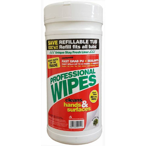 Wudcare prof.wipes 80 stk