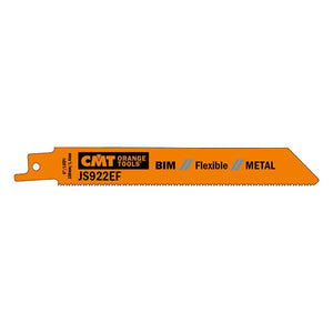 5 SABRE SAW BLADES FOR METALS (BIM) 150x