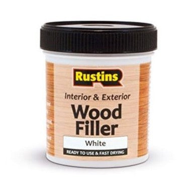 Rustins wood filler white
