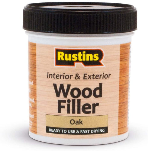 Rustins wood filler Oak 250ml