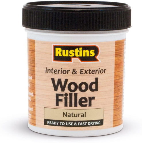Rustins wood filler natural 250ml