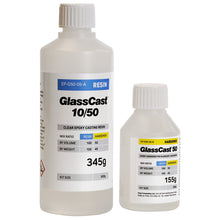 Load image into Gallery viewer, GlassCast 50 0,5 Kg Clear Epoxy resin