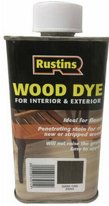 Wood Dye Dark Oak 250ml