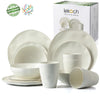 LEKOCH® Eco Friendly Bamboo Fiber Dinnerware Set - lekochshop
