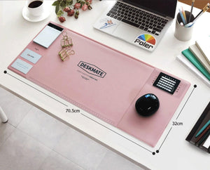 The PNK Stuff Desk Pad Multi-Functional Desk Pad with Calendar and Planner