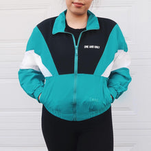 Load image into Gallery viewer, AQUA bomber jacket