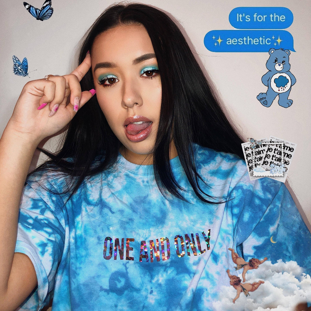 Icy Babe Tie-Dye Shirt