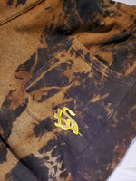 Golden Rose Tie-Dye Joggers