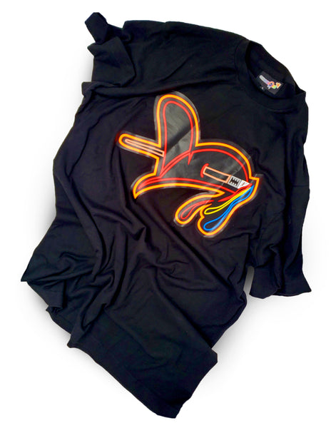 GusColors NEON Cupid Heart Tee