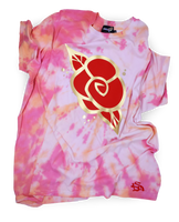 Golden Rose Tie-Dye Tee