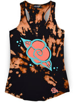 Golden Rose Women's Tie-Dye Tank Tops