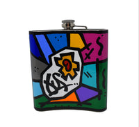 GusColors Custom Painted X-Large Flask