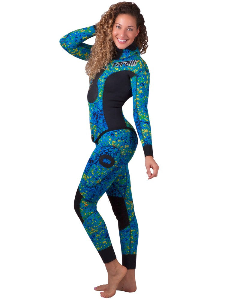 Torelli Womens 5mm Universe Spearfishing Wetsuit